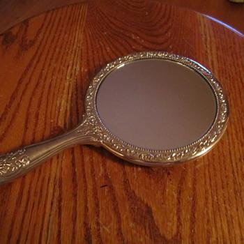 Sterling Vintage Premier 5 Hand Mirror - Art Nouveau