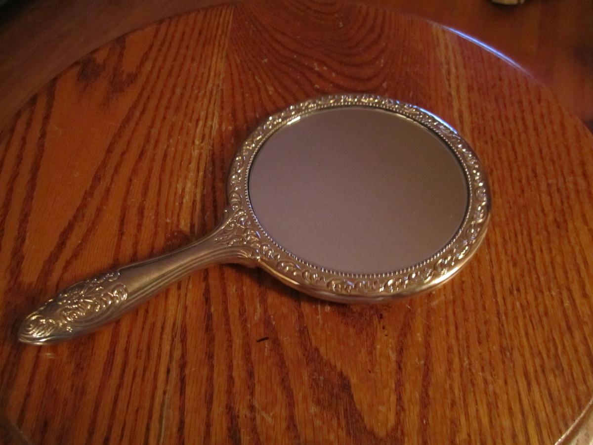 Art Nouveau2201 Of 2397 Antique Hand Mirror Value