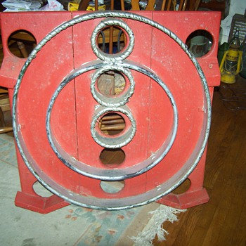 Vintage Primative Skee Ball  Game used in Carnivals 1940's? - Games