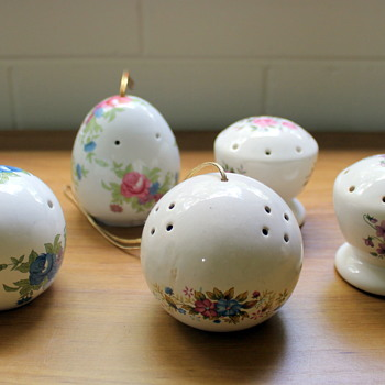 Ceramic pomanders part 1 - Figurines