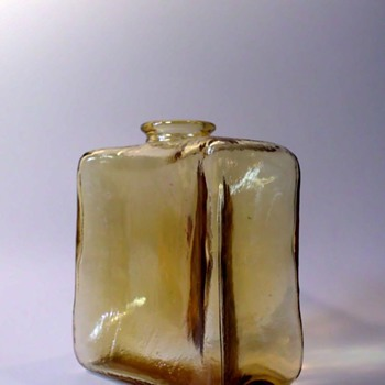 Klaus Breit Bottle Vase for Wiesenthalhütte, 1973 - Art Glass