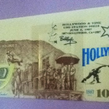 Hollywood 100th Anniversary Cover