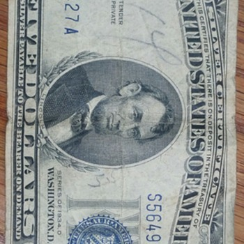 $5 silver certificate notes-- are they real or fake