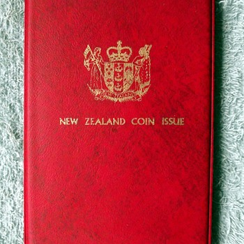 1973-the new zealand coin set. - World Coins