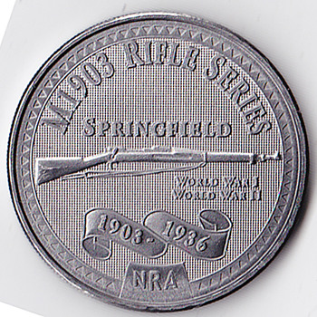 NRA Commerative Coin