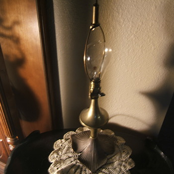 B&h table lamp & Edison bulb - Lamps