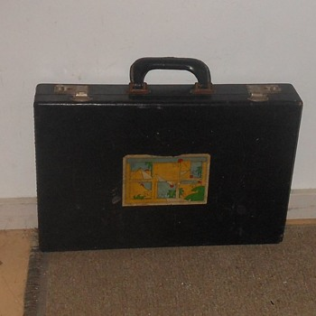 Unofficial Pink Floyd Vintage Briefcase