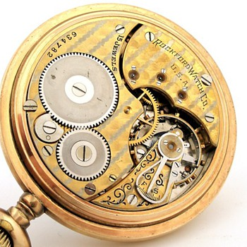 Rockford Two Tone Brenner Private Label Pocket Watch
