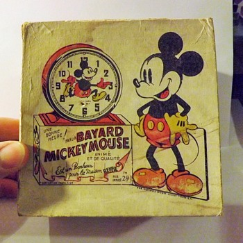 Old Style Bayard Mickey Alarm Clock - Clocks