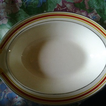 taylor smith and taylor oval bowl - China and Dinnerware