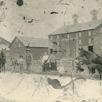 old photo of our family farm - Photographs