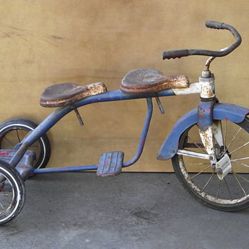 Hamilton Steel Products 2 seater tricycle - Outdoor Sports