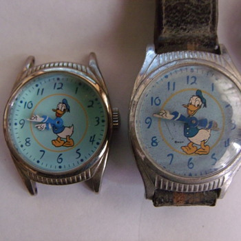 The 1948 Birthday Issue Donald Duck Wrist Watch - Wristwatches