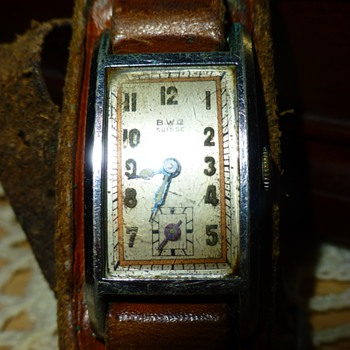 Vintage Suisse Womans Watch  BW Co Watch Co