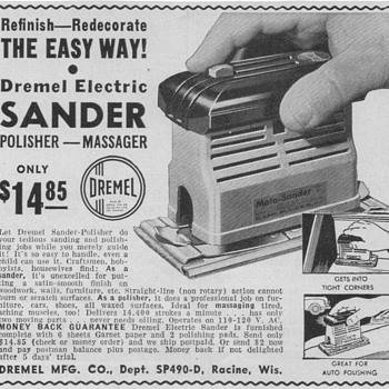 1950 Dremel Advertisement - Advertising
