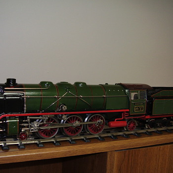 "Here are some of my ""O"" scale train collection."