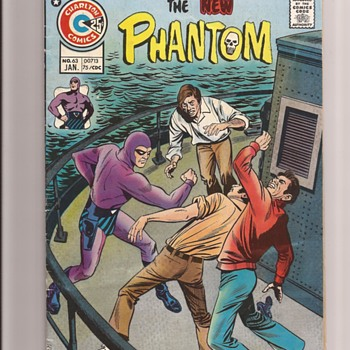 The Phantom...Ghost who walks - Comic Books