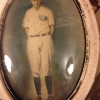1926 North Western Railway Baseball Ball Player