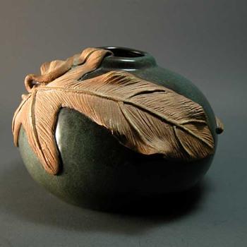 Studio Pottery Vase - Art Pottery