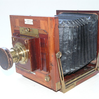 Ashford, J.  New Patent Camera, 1887 . - Cameras