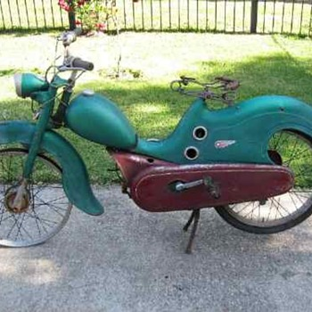 RARE SCOOTER - Motorcycles