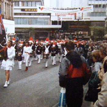 1986-old Birmingham-new Lord Mayors show.