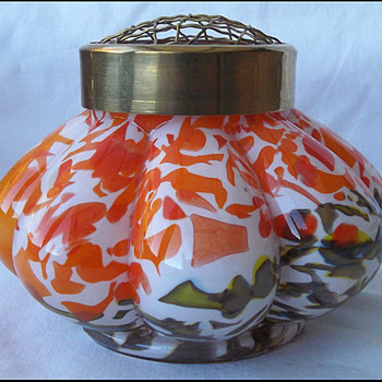 Kralik (?) Melon vase  - Art Glass