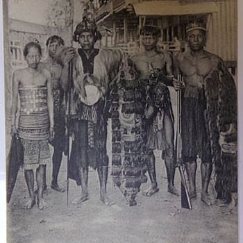 Dyaks of Borneo