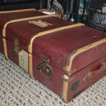 Steamer Trunk,  - Furniture