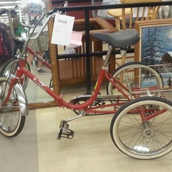 Vintage Worksman Trike - Sporting Goods