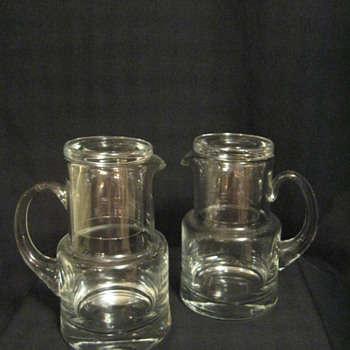 TIFFANY & CO. BESIDE WATER PITCHER (2) - Art Glass