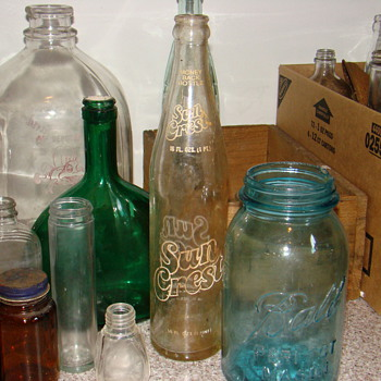 Misc. bottles - Bottles