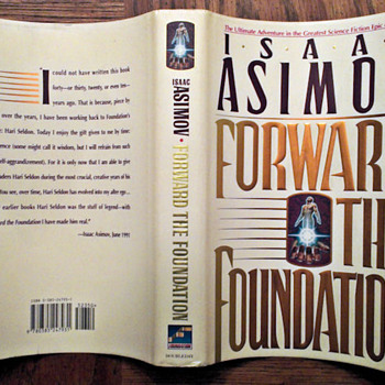 Forward the foundation (Foundation series book) - Books