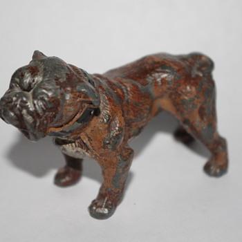 Metal Boxer Dog