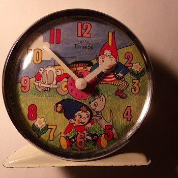 Animated Noddy Alarm Clock from book #2 - Clocks