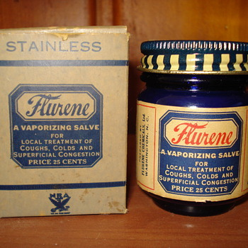 Flurene Vaporizing Salve - Bottles