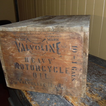 Antique Valvoline heavy Motorcycle oil- 1902 / 1909