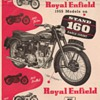 1955 Royal Enfield Motorcycle Ad