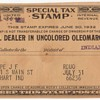 1931  Oleomargarine Tax Stamp