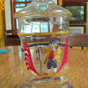 Williamsburg Apothecary Jar - Glassware