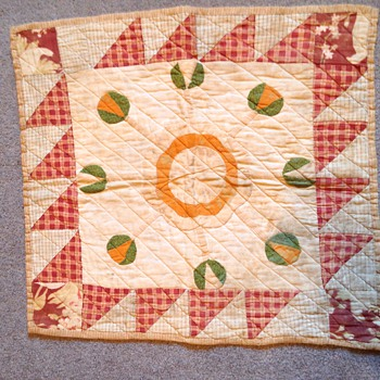 Antique Doll Quilt Need Help Dating