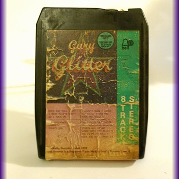 GARY GLITTER -- 8 TRACK TAPE -- 1970's Music Beats - Records