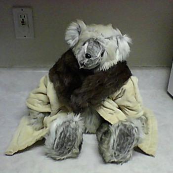 TEDDY IN FUR COLLAR COAT