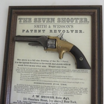 The Seven Shooter - Advertising