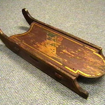 Early 1900&#039;s Child&#039;s Sled