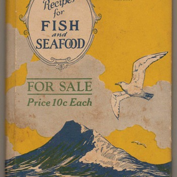 1927 - Recipes for Fish &amp; Seafood - Books