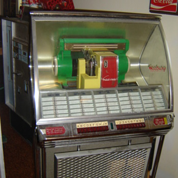 1950&#039;s Seeburg Jukebox