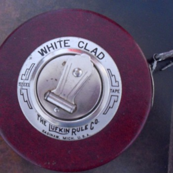 White Clad.The Lufkin rule Co. - Tools and Hardware