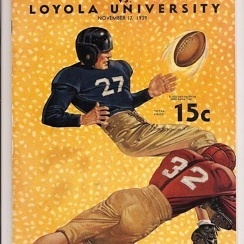 1939 San Jose State vs Loyola of Los Angeles - Football