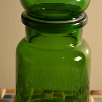 Belgian Glass Container